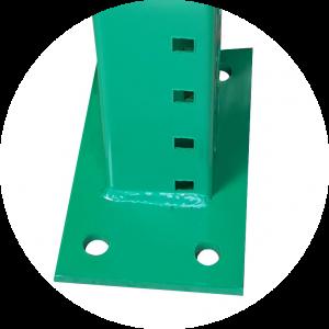 pallet racks base plate